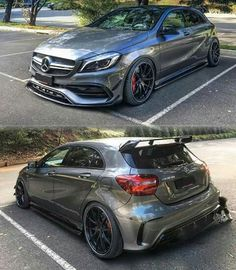 Mercedes Benz – One Stop Classic Car News & Tips Mercedes Amg, Mercedes Hatchback, Custom Mercedes, Mercedes A Class, Hatchback Cars, Classe A Amg, Amg Car, Sport Cars, Dream Cars
