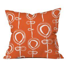 Rachael Taylor Contemporary Throw Pillow