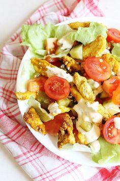 Sałatka a'la Cezar - idealna na upały. Szybka i smaczna Cobb Salad, Grilling, Lunch Box, Impreza, Food, Fitness, Diet, Recipe Of The World, Kitchens