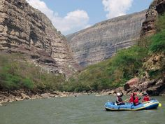 Rafting in San Gil, Colombia - One of the adventure sport capitals of the world.