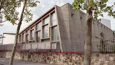 UNESCO Auditorium, 7th Arrondissment, Paris, France, 1958. Still in use. Designers: Bernard Louis Zehrfuss, Antonio Nervi, Marcel Breuer, Pier Luigi Nervi.