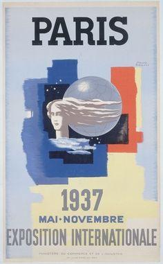 Paris / 1937/ Mai. Novembre / Exposition internationale. Paul Colin.<br> Copyright &copy © Musée Carnavalet / Roger Viollet