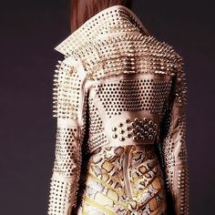 Studded jacket and snakeskin skirt. It's like it was made for me!