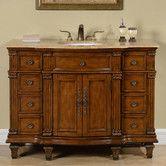 """Found it at Wayfair - 48"""" Single Sink Cabinet Bathroom Vanity Set"""
