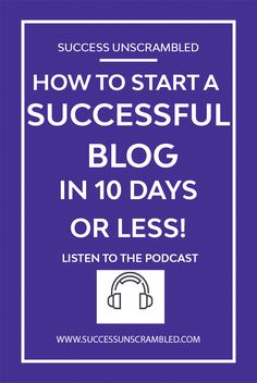 Is blogging a dream of yours? Now you too can start a blog with the help of these 11 things. Get your blog up and running in 10 days or less. #blog #blogging #startablog