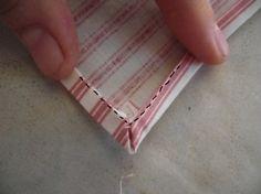 Sewing cloth napkins