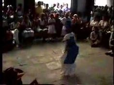 Excerpt from Orisha Dance in Cuba of Yemaya, available at www.folkcuba.com, features Elegba, Ogun, Oshun, Yemaya, Oya, Babalu Aye, Shango. Filmed in Cuba by David H. Brown. (c) 2007