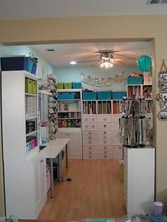 scrapbook room :) by alyce