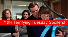 """""""The Young and the Restless"""" spoilers for Tuesday, January 5, tease that Billy's (Burgess Jenkins) sudden cardiac arrest will have everyone on edge..."""