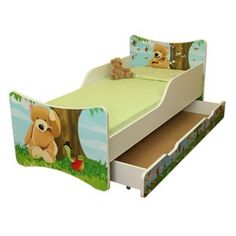 Dětská postel Medvídek, Spokojny Sen Diy Zimmer, Toddler Bed, Pallets, Furniture, Home Decor, Bear Nursery, Nursery Set Up, Apartment Ideas, Baby & Toddler