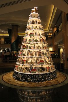 December 25, 2012. The Christmas decorations in Kuala Lumpur's malls and hotels are unique and creative.