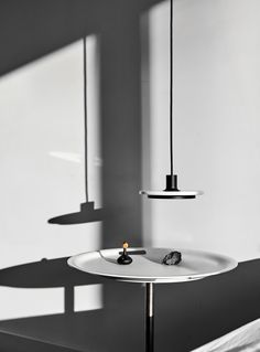 Calcite is a collection of minimal pendant and floor lamps created by London-based designer Romain Voulet. Suspended Lighting, Design Hotel, Scandinavian Interior, Lamp Design, Light Shades, Floor Lamp, Minimalism, Table Lamp, Ceiling Lights