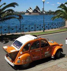 Naranjito | Around the World in a 'Tin Snail'