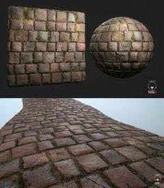 ArtStation - Procedural Stone floor - Substance Designer, Hugo Beyer