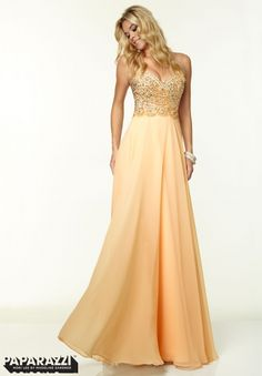 97041 Prom Dresses / Gowns Chiffon with Beading