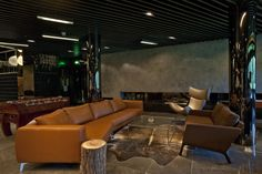 BoConcept Fargo sofa, Monte sofa, and Imola chair in Muse VIP Lounge, Shanghai
