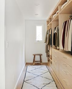 New Year, New Closet: How Jenni Conquers the Wardrobe Cleanout Minimalist Closet, Minimalist Home, Master Closet, Closet Bedroom, Closet Space, Home Decor Shops, Home Decor Items, Cleaning Out Closet, Entry Tables