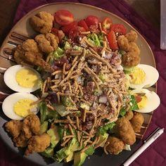 Just a simple salad tonight!