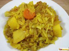 Atakilt Wat - Ethiopian Cabbage Potato & Carrots