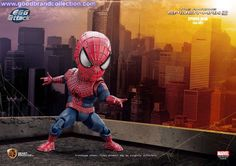 Toys action figure news: Kids Logic beast kingdom Spider-Man, Egg Attack Ac...