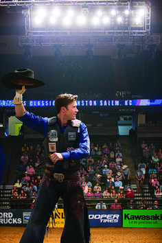 Luke Collins, Ariat Athlete and Bull Rider