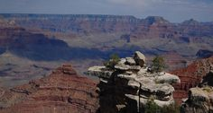 The Grand Canyon, Arizona -- I've been here but Brandon never has -- this is a definite!