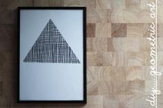 little.empty.room: DIY . geometric art