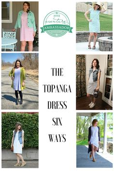The Topanga dress is perfect for throwing on with canvas tennis shoes or flip flops for running errands or you could dress it up with a colorful scarf and wedge sandals for a date night. Spring Line, Spring Summer 2018, Aventura Clothing, Eco Friendly Fashion, Best Brand, Simple Style, Nice Dresses, Wedge Sandals, Fashion Ideas