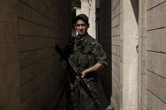 Pro-Russian rebel in Donetsk (Ukraine)