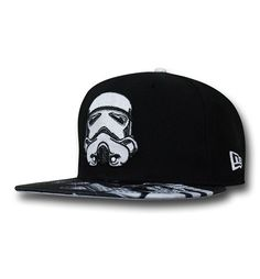 Show your support for the Empire and everybody's favorite future soldier with the 100% polyester Star Wars Trooper Tonal Glow 59Fifty Cap! What, you thought that guy from HALO or a Marine from Starcraft was going to be on this thing? Pfft, let's see them make accurate blaster marks against Jawas...those guys are only like 2 feet tall! Produced by New Era, the Star Wars Trooper Tonal Glow 59Fifty Cap comes in fitted sizes and all of the white print on this great hat glows in the dark! YEAH…