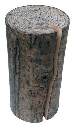 three eyes man design's hand drawn wood work