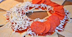 Some of you may have seen my taco ring, the recipe is here . This recipe is quite similar, just with a pizza twist to it. I was thinkin...