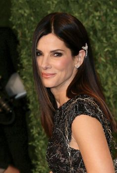The Best Awards-Season Hairstyles and Updos | Sandra Bullock