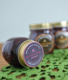 Homemade jam + labels