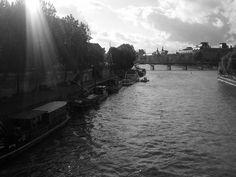 Seine River, left bank, walking back from work