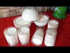 Τυροκομικά - YouTube Concrete Projects, Flan, Glass Of Milk, Candle Holders, Food And Drink, Ice Cream, Sweets, Candles, Cooking