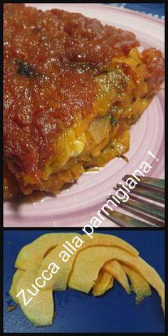 Zucca alla parmigiana, troppo buona !  #ricetta #parmigiana #zucca #zuccaparmigiana #ricettegustose