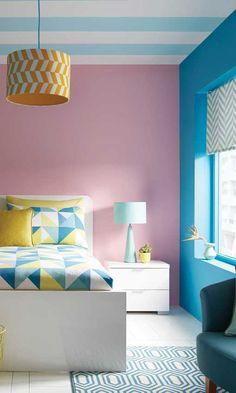 Simple Bedroom Design, Bedroom False Ceiling Design, Bedroom Wall Designs, Bedroom Wall Colors, Room Design Bedroom, Room Paint Colors, Paint Colors For Living Room, Wall Colours, Room Interior Colour