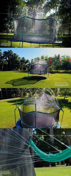 Hose Nozzles and Wands 181015: Water Play Sprinkler Summer Fun Trampoline Waterpark Garden Hose Splash Sprayer -> BUY IT NOW ONLY: $38.6 on eBay!