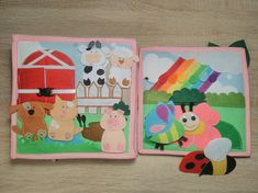 Quiet Busy Book activity toy beautiful toys
