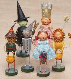 thanksgiving putz house   Lori Mitchell Wizard of Oz