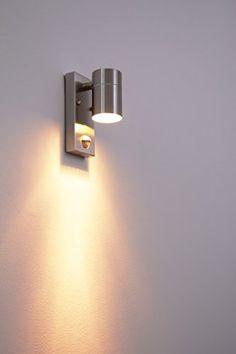 Outdoor wall light Down Segur with PIR Sensor: Amazon.co.uk: Lighting