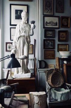 David Bridgwater, his curious world. - Bible of British Taste Decor, Furnishings, Interior And Exterior, House Design, Interior Inspiration, Interior Design, Home Decor, House Interior, Room Decor
