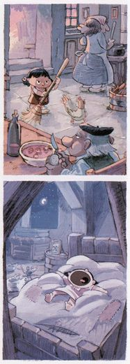 Viñetas de Marieta 1. La vida en el campo de NOB. Edita Dibbuks