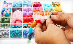 Groupon - $ 25 for a Mommy and Me Jewelry-Making Class at DreamScapes Boutique & Studio ($ 50 Value). Groupon deal price: $25.00