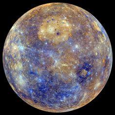 La sonde Messenger s'éteint, le mystère de Mercure demeure - Sciencesetavenir.fr