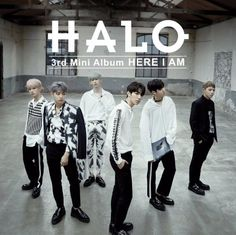 "HALO 3rd Mini Album ""HERE I AM"" K-POP CD + 88p Photobook + Photocard + Poster #Pop"