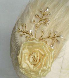 Organza rose detail