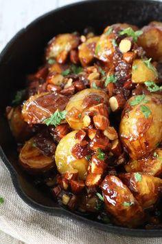 Potato Recipes, Veggie Recipes, Wine Recipes, Vegetarian Recipes, Healthy Recipes, Healthy Foods, Cook N, Dinner Is Served, Food Hacks