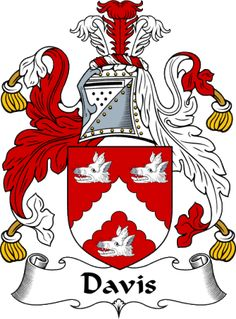 Davis coat of arms | EnglishGathering - The Davis Coat of Arms (Family Crest) and Surname ...